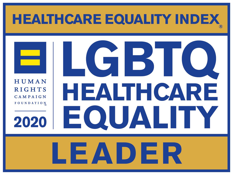 2020 LGBTQ Healthcare Equality Leader