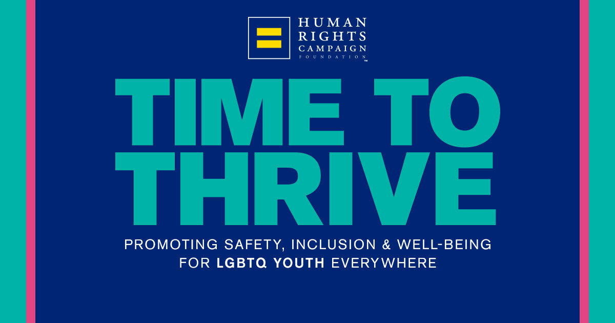 HRC Foundation's Time to THRIVE Goes Virtual