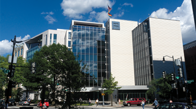 The Human Rights Campaign building in Washington, DC.